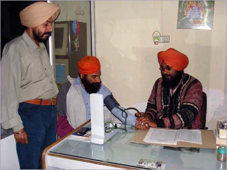 Regular Check-up of Patients