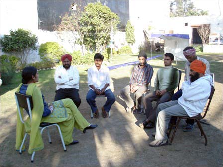 Group counseling of patients